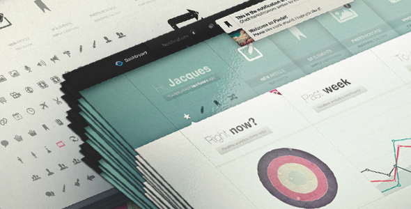 ThemeForest Pastel Dashboard Admin Template & iPhone web app 1694914