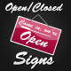 Open Closed Signs - GraphicRiver Item for Sale
