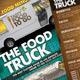 Food Truck Menu Flyer 广告-Graphicriver中文最全的素材分享平台