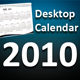 Desktop Calendar 2010 - GraphicRiver Item for Sale