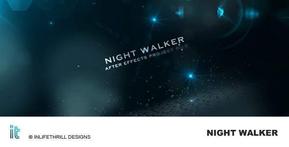 After Effects Project - VideoHive Night Walker 96612