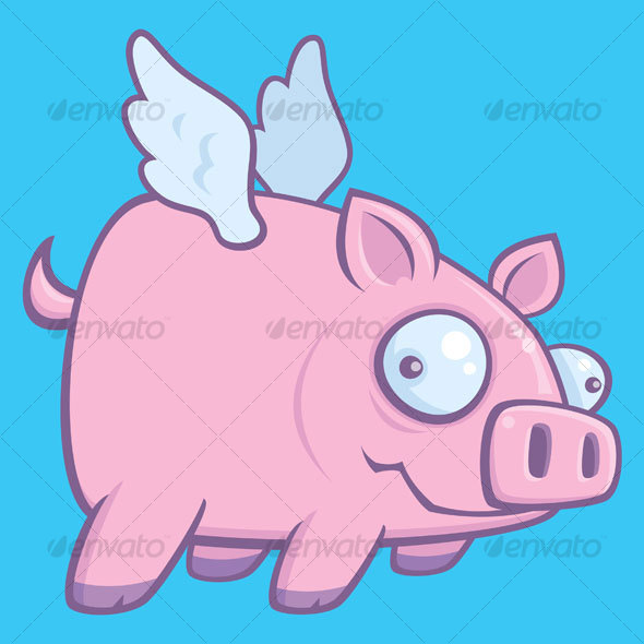 GraphicRiver When Pigs Fly 66545