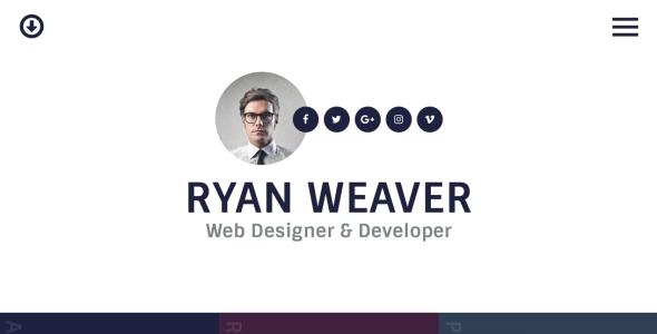 Free PSD   HTML Resume Templates   Web   Graphic Design   Bashooka