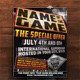 Name Of The Game Event Flyer - GraphicRiver Item for Sale