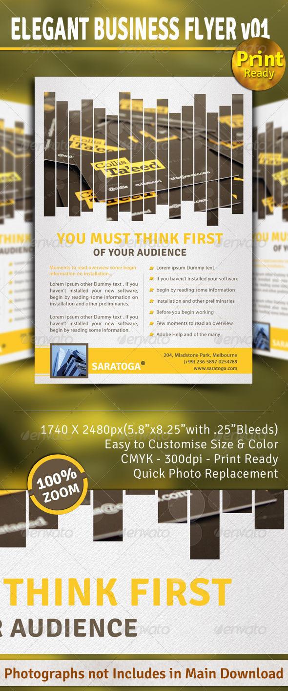 GraphicRiver Elegant Business Flyer v01 1707988