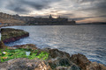 Valletta and Manoel Island at sunset - PhotoDune Item for Sale