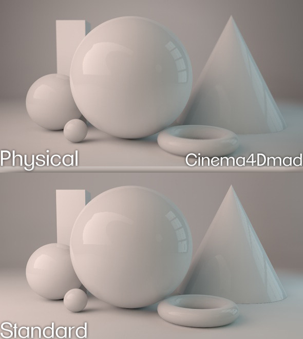 Physical render studio cinema 4D - 3DOcean Item for Sale