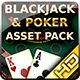 Poker and Blackjack Asset Pack