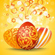 Easter Eggs with Ornament Decoration - GraphicRiver Item for Sale