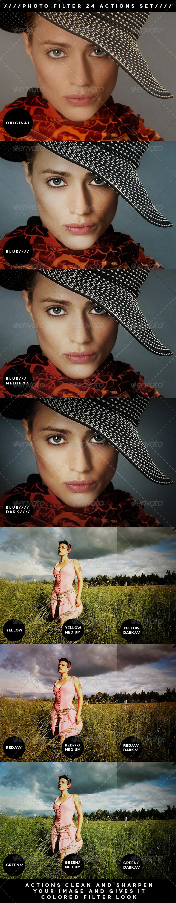 GraphicRiver PHOTO FILTER ACTIONS 1711788