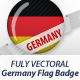 Germany Flag Badges - GraphicRiver Item for Sale