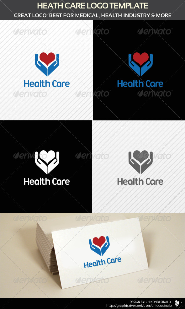Health Care Logo Template - Abstract Logo Templates