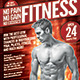 Fitness Gym Flyer with Multiple Color Options - GraphicRiver Item for Sale