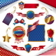USA Patriotic Signs, Labels, Tags & Emblem - GraphicRiver Item for Sale