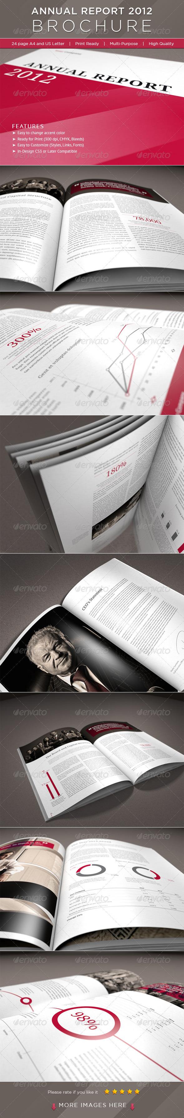 GraphicRiver 24 Page Annual Report Brochure 883492