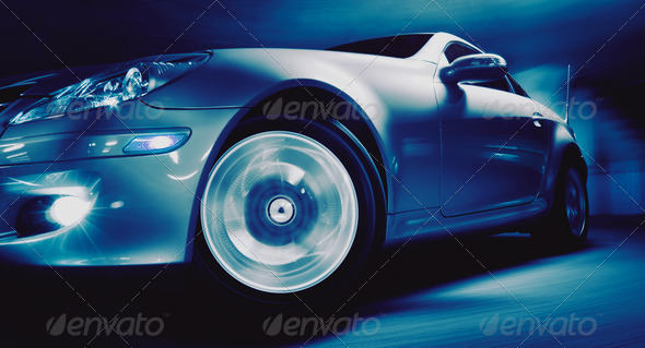 Sports Car - Stock Photo - Images