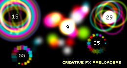 Creative FX Preloaders