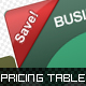 Web 2.0 Pricing Tables-Graphicriver中文最全的素材分享平台