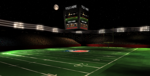After Effects Project - VideoHive The Gridiron 3D Football Stadium 1696047