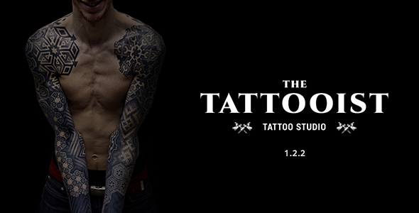 the tattooist tattoo body art studio html template by webisir themeforest. Black Bedroom Furniture Sets. Home Design Ideas