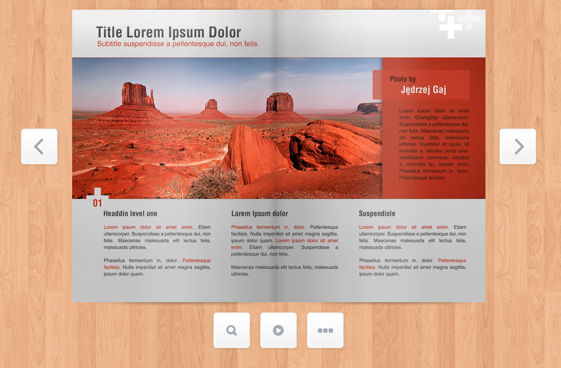 Responsive Flip Book powered by jQuery - Screenshot 3 - Brochure