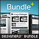 Designers Bundle, Professional Actions Pack - 3in1 - GraphicRiver Item for Sale