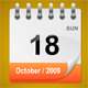 PHP SERVER SIDE DAILY CALENDAR - ActiveDen Item for Sale