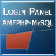 Login &amp;amp; Register Panel  (with AMFPHP-MySQL) - ActiveDen Item for Sale
