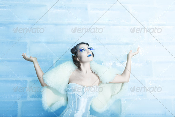 Snow queen - Stock Photo - Images