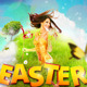 Easter World Party Flyer - GraphicRiver Item for Sale