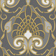 Seamless Gold pattern on a Silver background - GraphicRiver Item for Sale