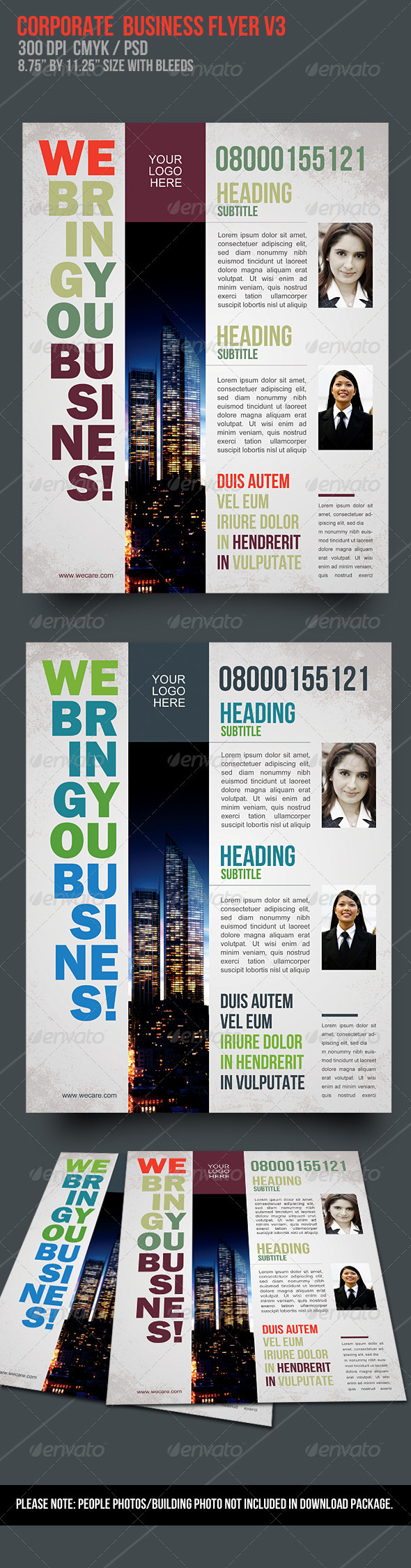 GraphicRiver Corporate Business Flyer V3 1740558
