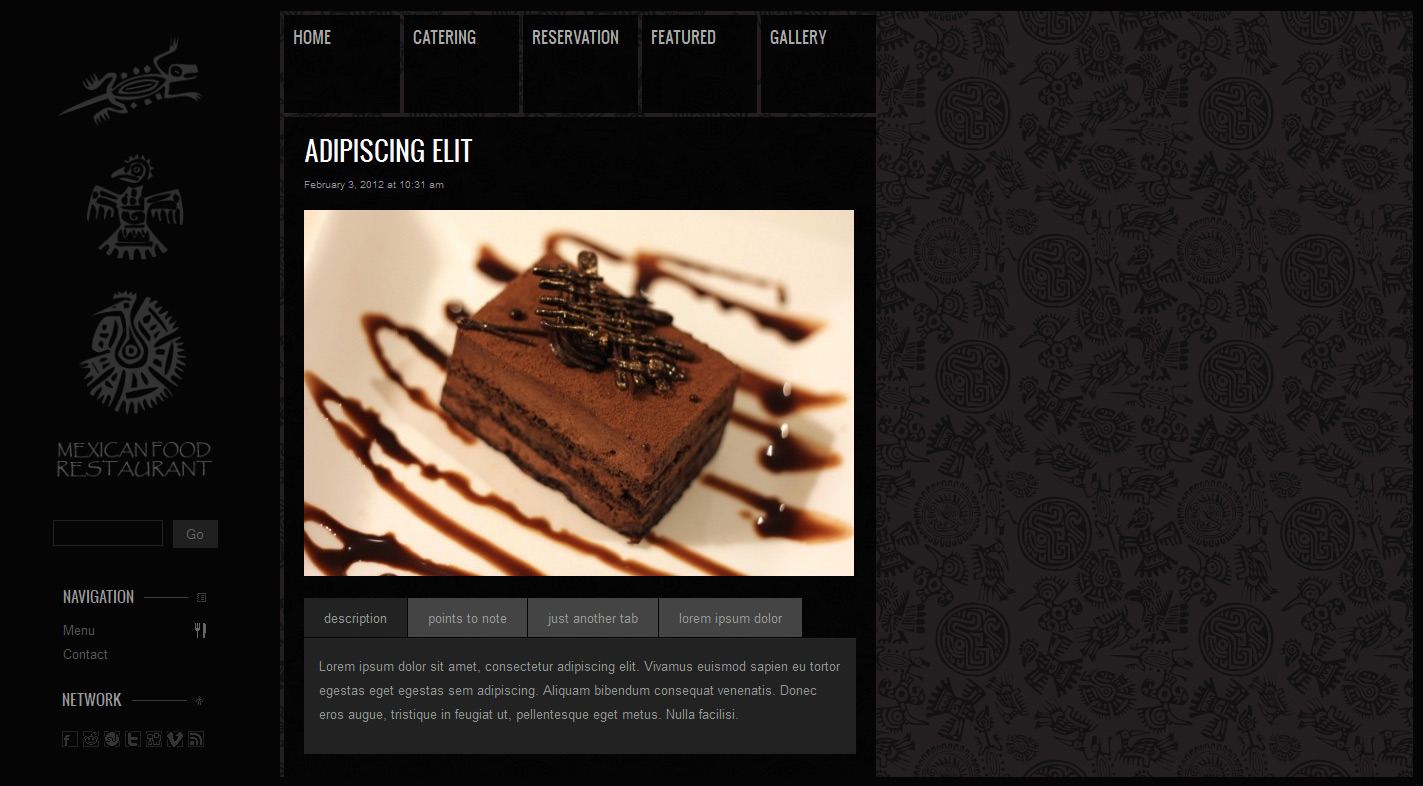MagTruetitude Restaurant and  WP Food Magazine - Theme post example.
