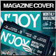 N'joy A4 Magazine Cover - GraphicRiver Item for Sale