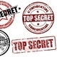 Top secret stamps - GraphicRiver Item for Sale