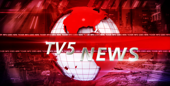 After Effects Project - VideoHive Broadcast Design News Package v1 1744862