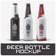 Beer Bottle Mock-Up-Graphicriver中文最全的素材分享平台
