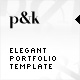 AS2 XML Elegant Portfolio Template - ActiveDen Item for Sale