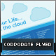 File Hosting/Online Storage Corporate Flyer - GraphicRiver Item for Sale