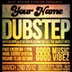 Dubstep Flyer Template - GraphicRiver Item for Sale
