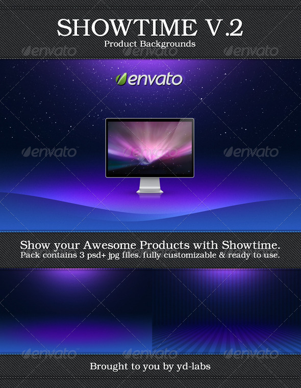 Showtime Volume 2 - Abstract Backgrounds