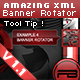 Amazing XML Banner rotator with Thumb and ToolTip - ActiveDen Item for Sale