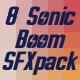 8 Sonic Boom Sound Pack