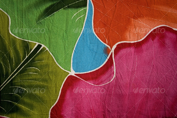 Graphic River Batik fabric Textures -  Fabric 68551