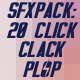 20 Click Sound Pack