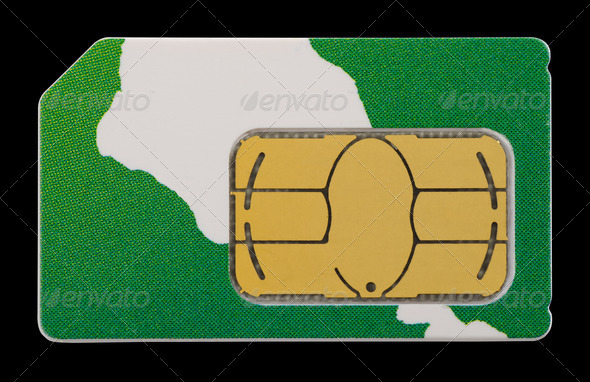 SIM card - Stock Photo - Images