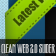 Very Clean Web 2.0 Slider - GraphicRiver Item for Sale