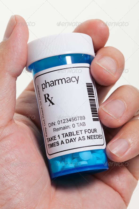 Pill Bottle - Stock Photo - Images