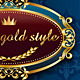 Royal Badges/Frames part 1/2 - GraphicRiver Item for Sale