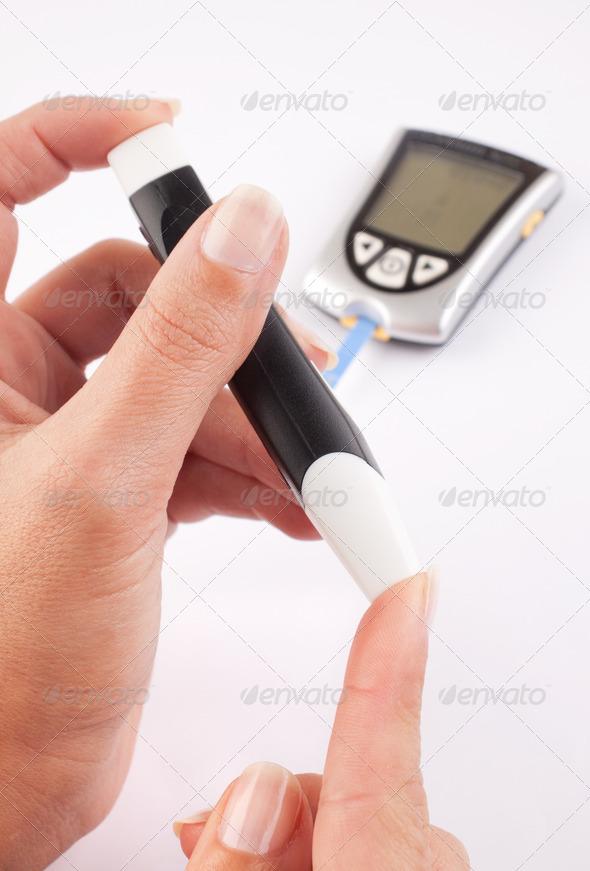PhotoDune Diabetic woman 1764008